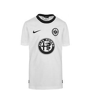 Nike Eintracht Frankfurt 15/16 Auswärts Fußballtrikot Kinder weiß / schwarz