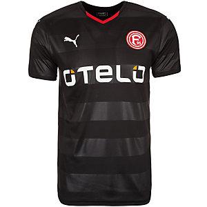 PUMA Fortuna Düsseldorf 15/16 Auswärts Fußballtrikot Herren schwarz / rot
