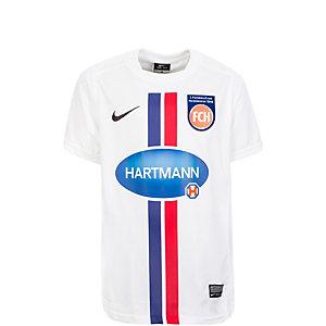Nike 1. FC Heidenheim 15/16 Heim Fußballtrikot Kinder weiß