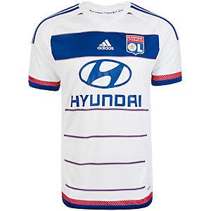 adidas Olympique Lyon 15/16 Heim Fußballtrikot Herren weiß / blau / rot