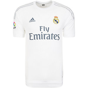 adidas Real Madrid 15/16 Heim Fußballtrikot Herren weiß / hellgrau