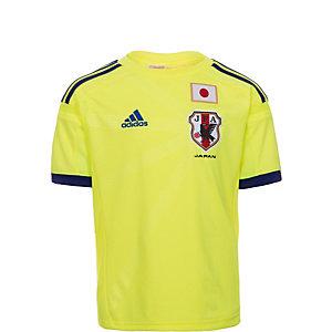 adidas Japan WM 2014 Auswärts Fußballtrikot Kinder gelb / blau