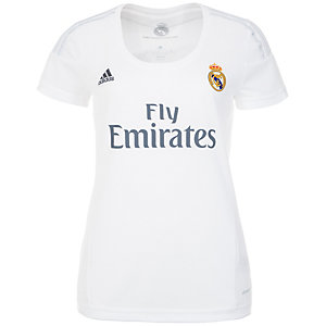 adidas Real Madrid 15/16 Heim Fußballtrikot Damen weiß / hellgrau