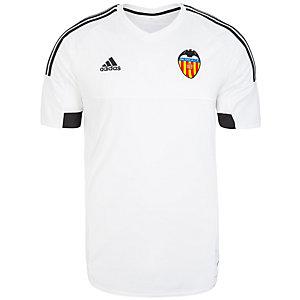 adidas FC Valencia 15/16 Heim Fußballtrikot Herren weiß / schwarz