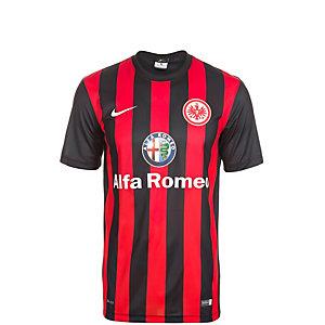 Nike Eintracht Frankfurt 14/15 Heim Fußballtrikot Kinder schwarz / rot