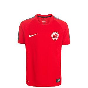 Nike Eintracht Frankfurt Fanshirt Kinder rot / grau