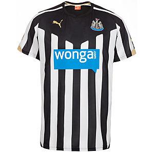 PUMA Newcastle United 14/15 Heim Fußballtrikot Herren schwarz / weiß