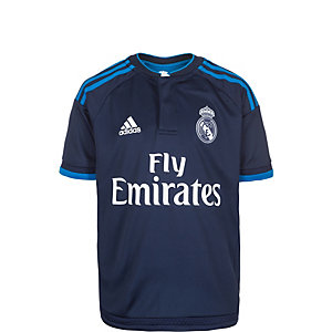 adidas Real Madrid 15/16 3rd Fußballtrikot Kinder dunkelblau / hellblau
