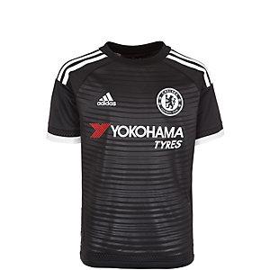 adidas FC Chelsea 15/16 3rd Fußballtrikot Kinder schwarz / weiß