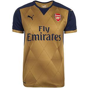 PUMA Arsenal London 15/16 Auswärts Fußballtrikot Herren gold / dunkelblau