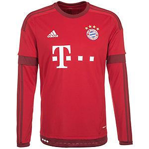 adidas FC Bayern München 15/16 Heim Fußballtrikot Herren rot / weiß