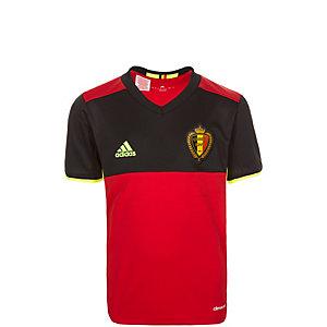 adidas Belgien EM 2016 Heim Fußballtrikot Kinder rot / schwarz / gelb