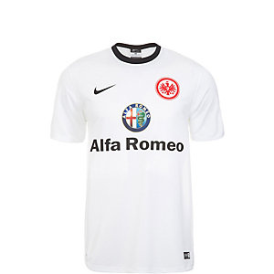 Nike Eintracht Frankfurt 14/15 Auswärts Fußballtrikot Kinder weiß / schwarz