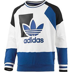 adidas Sweatshirt Damen weiß/blau