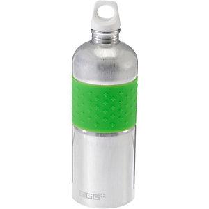 SIGG CYD Alu Trinkflasche grün/silberfarben
