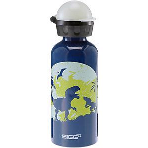 SIGG Glow Moon Dinos Trinkflasche Kinder dunkelblau/grün