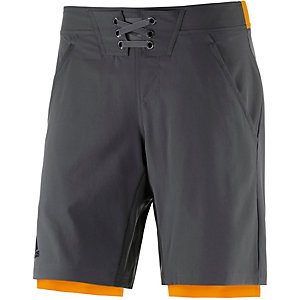 adidas Adizero Funktionsshorts Herren anthrazit/orange