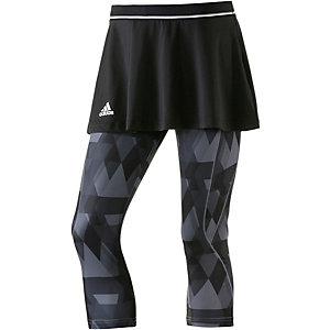 adidas Club Skort Damen schwarz/allover