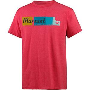 Marmot 5.15 Funktionsshirt Herren rot