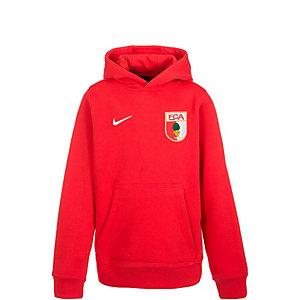 Nike FC Augsburg Hoodie Kinder rot