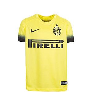 Nike Inter Mailand 15/16 3rd Fußballtrikot Kinder gelb / schwarz