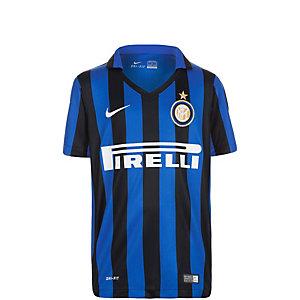 Nike Inter Mailand Home Stadium 2015/2016 Fußballtrikot Kinder schwarz / blau