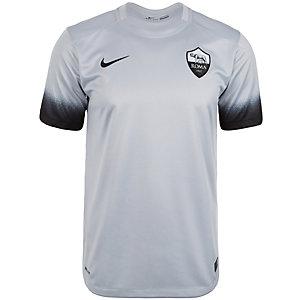 Nike AS Rom 15/16 3rd Fußballtrikot Herren hellgrau / schwarz