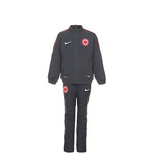 Nike Eintracht Frankfurt Trainingsanzug Kinder grau / rot
