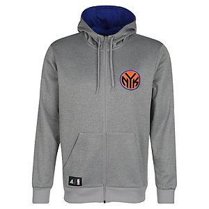 adidas New York Knicks Trainingsjacke Herren grau
