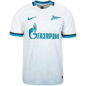 Nike Zenit St.Petersburg 15/16 Auswärts Fußballtrikot Herren weiß / hellblau