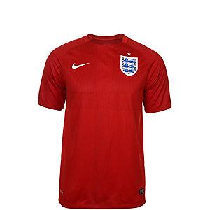 Nike England WM 2014 Auswärts Fußballtrikot Kinder rot / weiß