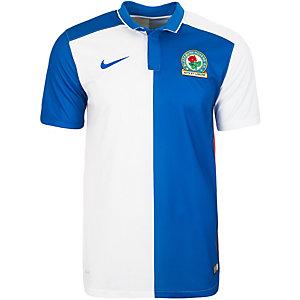 Nike Blackburn Rovers 15/16 Heim Fußballtrikot Herren blau / weiß