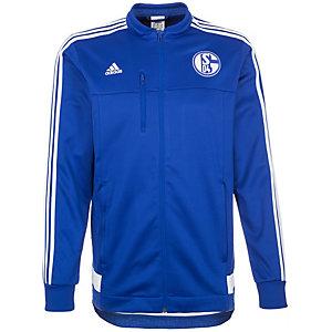 adidas FC Schalke 04 Trainingsjacke Herren blau / weiß