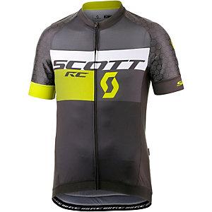 SCOTT RC Pro Tec Fahrradtrikot Herren schwarz gelb