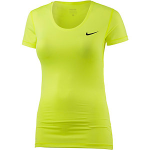 Nike Pro Dry Fit Funktionsshirt Damen neongelb