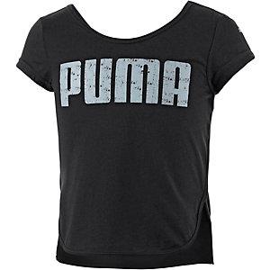 PUMA Printshirt Mädchen schwarz