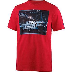 Nike Futura Bridge Printshirt Herren rot
