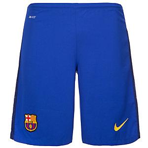 Nike FC Barcelona 15/16 Auswärts Fußballshorts Herren blau / dunkelblau