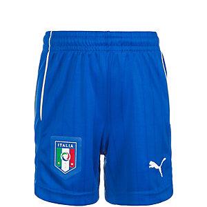 PUMA Italien EM 2016 Auswärts Fußballshorts Kinder blau
