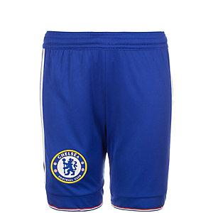 adidas FC Chelsea 15/16 Heim Fußballshorts Kinder blau / weiß
