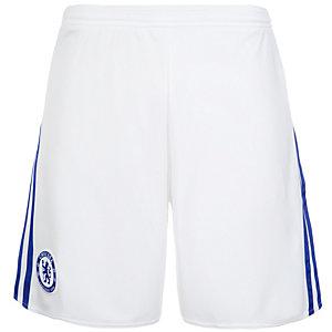 adidas FC Chelsea 15/16 Auswärts Fußballshorts Herren weiß / blau
