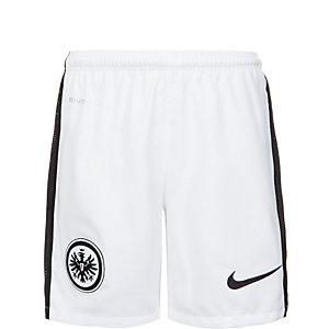 Nike Eintracht Frankfurt 15/16 Auswärts Fußballshorts Kinder weiß / schwarz