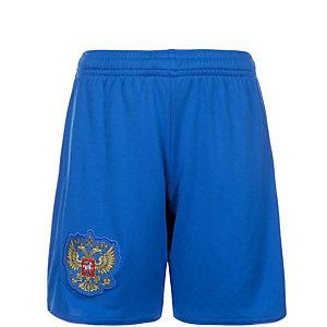 adidas Russland EM 2016 Auswärts Fußballshorts Kinder blau / weiß