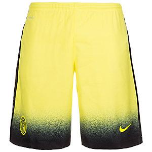 Nike Inter Mailand 15/16 3rd Fußballshorts Herren gelb / schwarz