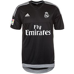 adidas Real Madrid 15/16 Heim Torwarttrikot Herren schwarz / grau