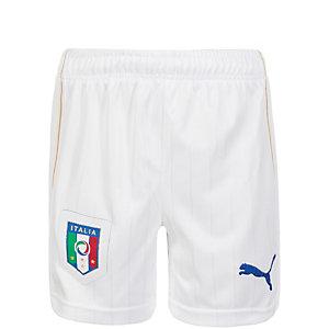 PUMA Italien EM 2016 Heim Fußballshorts Kinder weiß / blau
