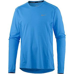 Nike Miler Laufshirt Herren blau