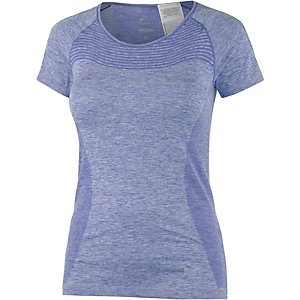 Nike Dri-Fit Knit Funktionsshirt Damen hellblau