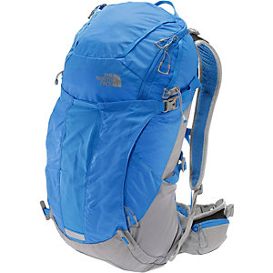The North Face Litus 32 Wanderrucksack blau/grau