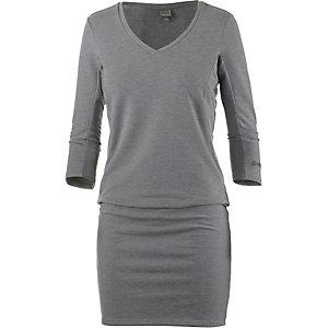 Bench Jerseykleid Damen graumelange